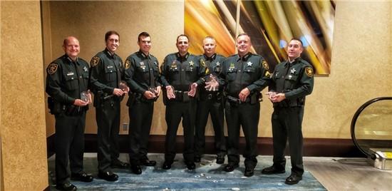 18-152 Pinellas DUI Deputies Awarded At MADD Florida Law